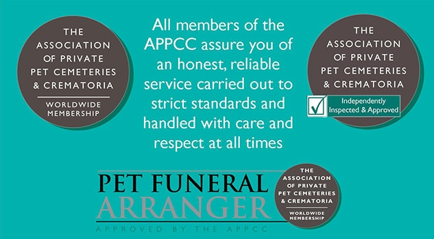 Why pet owners should use a member of the Association of Private Pet Cemeteries and Crematoria for the cremation or burial of their pet