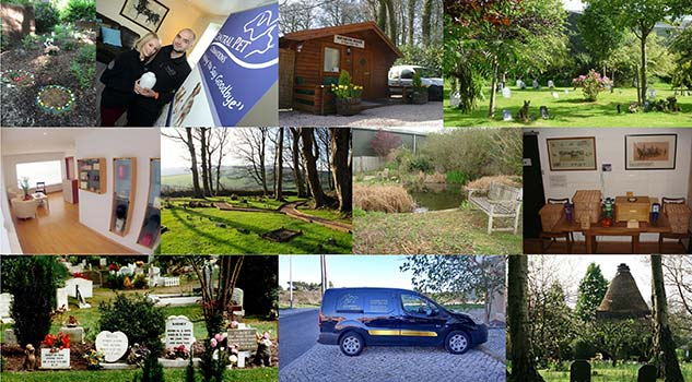 Images of pet crematoriums and pet cemeteries - members of the APPCC
